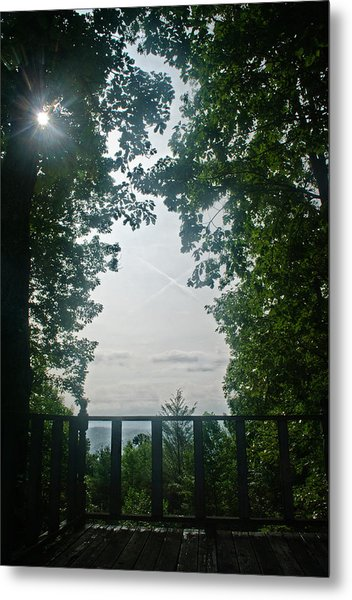 Sunrise Portal Metal Print
