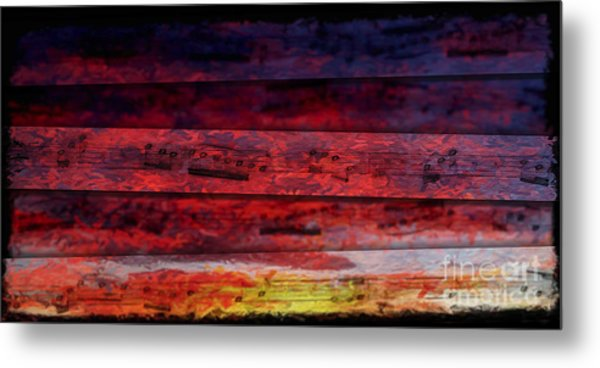 Sunrise Quintet Metal Print