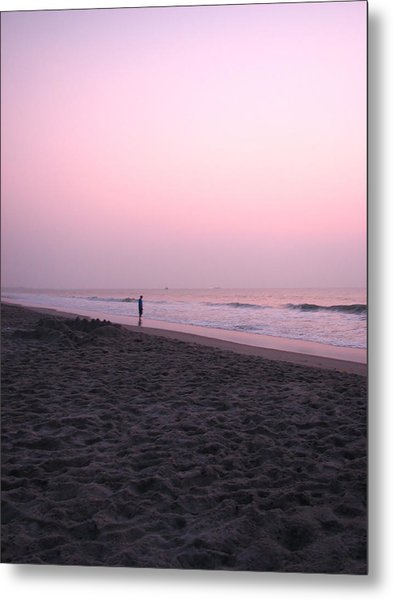 Sunrise Reflections Metal Print by Peggy Burley