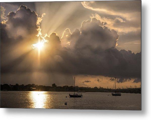 Sunrise St Augustine Bayfront Metal Print