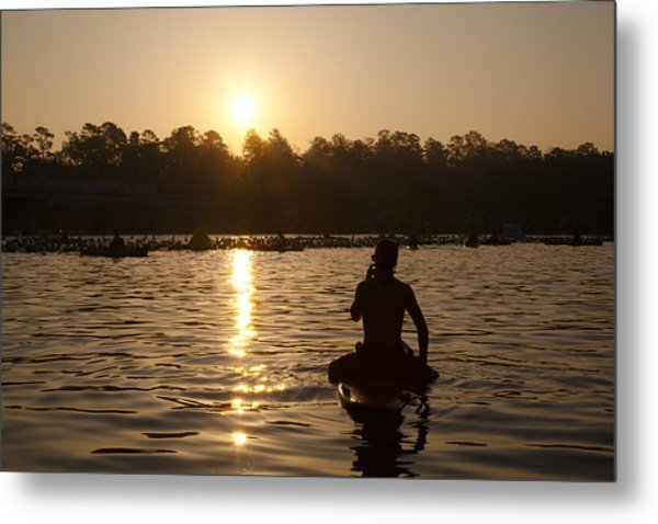 Sunrise Start Metal Print