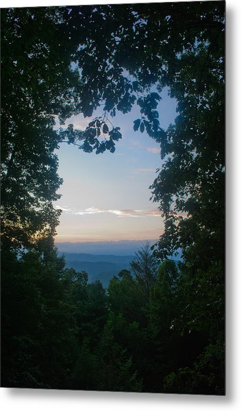 Sunrise Through The Trees Metal Print