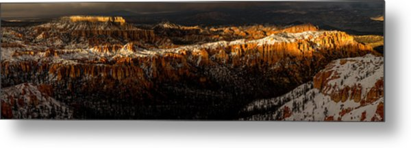 Metal Print featuring the photograph Sun's Last Rays by TL  Mair