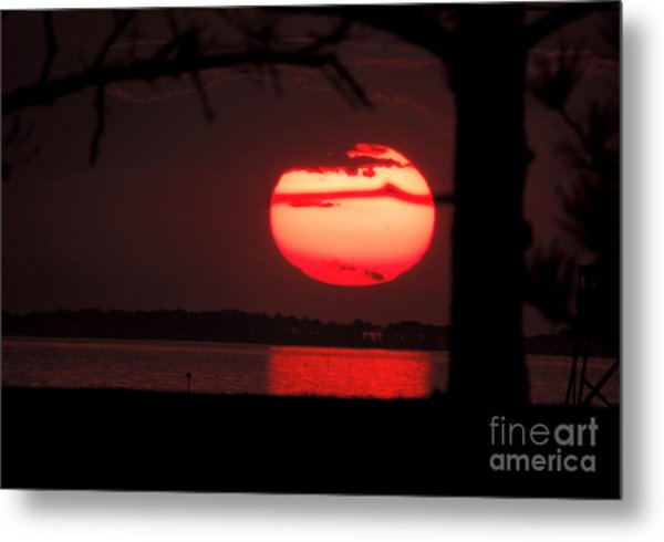 Sunset 3 Metal Print by Stephanie Kendall