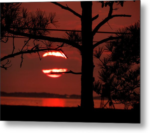 Sunset 4 Metal Print by Stephanie Kendall