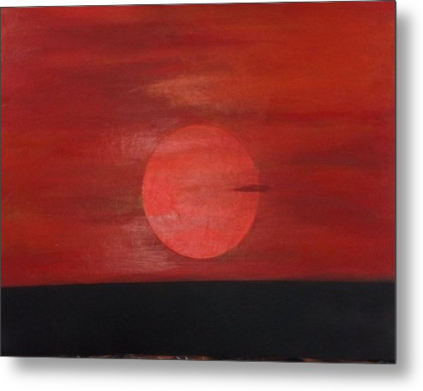 Sunset Metal Print by Andrea Friedell