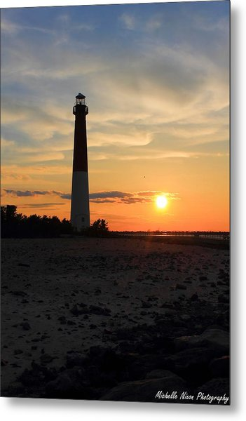 Sunset At Old Barney Metal Print by Michelle Nixon