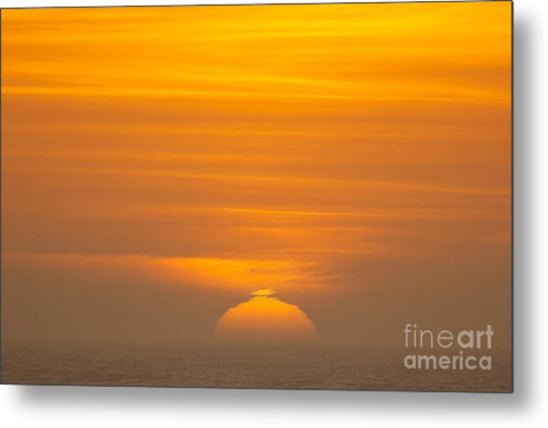 Sunset At Samoa 1.7117 Metal Print by Stephen Parker