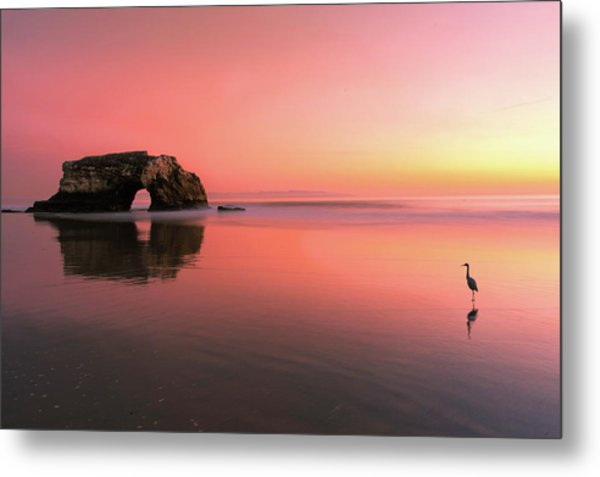 Sunset At The Natural Bridge-2 Metal Print