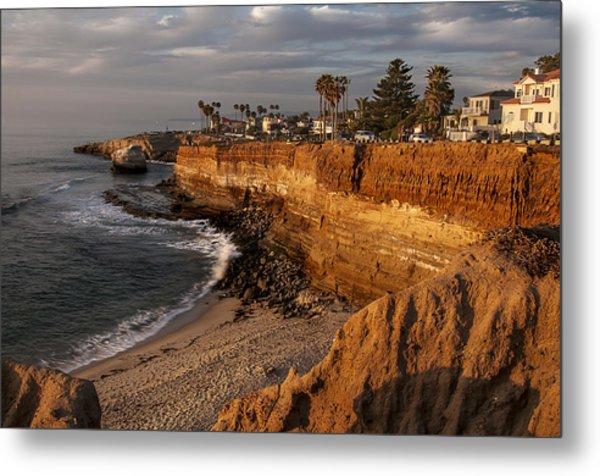 Sunset Cliffs 1 Metal Print