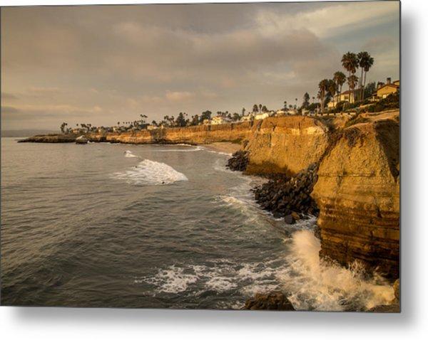 Sunset Cliffs 4 Metal Print