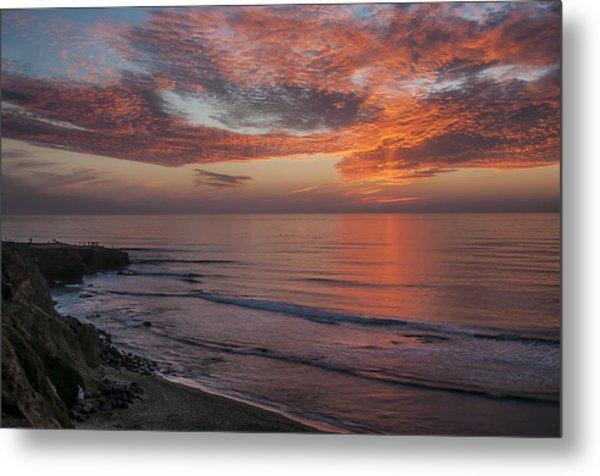 Sunset Cliffs Sunset 2 Metal Print
