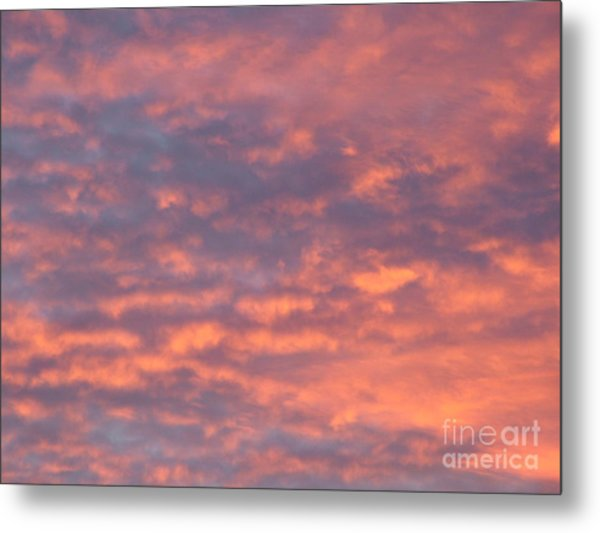 Sunset Clouds Metal Print by Mark Bowden