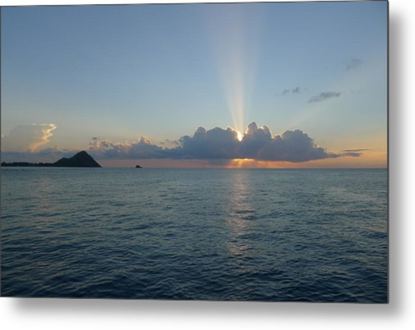 Sunset Cruise - St. Lucia 2 Metal Print