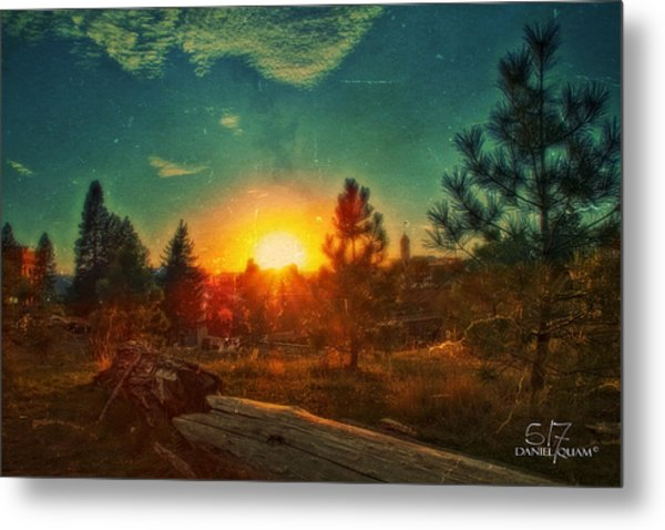 Sunset Metal Print by Dan Quam