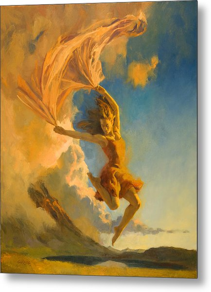 Sunset Dance Metal Print by Francois Girard