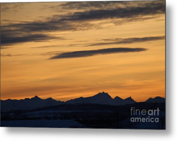 Sunset From 567 Metal Print