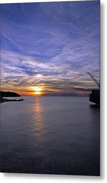 Sunset In Adriatic Metal Print