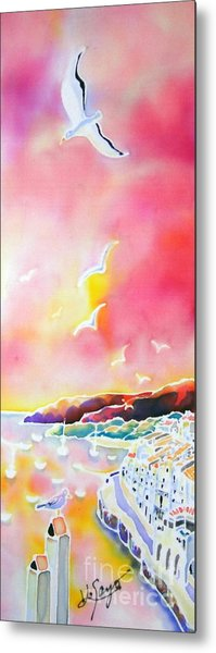 Sunset In Costa Brava Metal Print