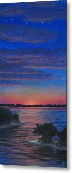Sunset In Islamorada Metal Print by J Barth