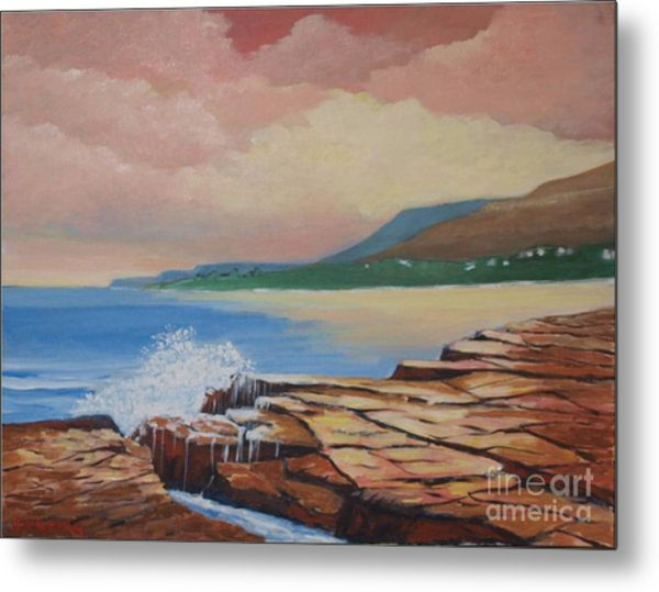 Sunset In New South Wales Metal Print