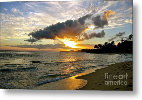 Sunset In Paradise Metal Print by Jason Clinkscales