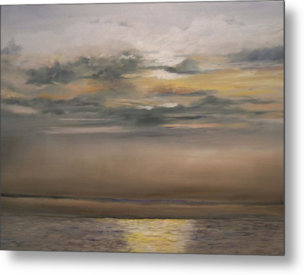 Sunset - Indian Rocks Beach Metal Print
