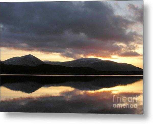 Sunset - Loch Morlich - Scotland Metal Print