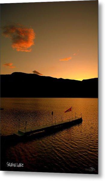 Sunset - Okanagan Valley 3/21/2014  Metal Print