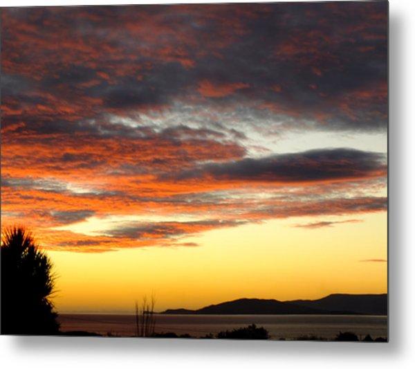 Sunset On Bantry Bay Metal Print