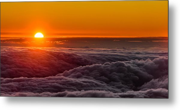 Sunset On Cloud City 1 Metal Print