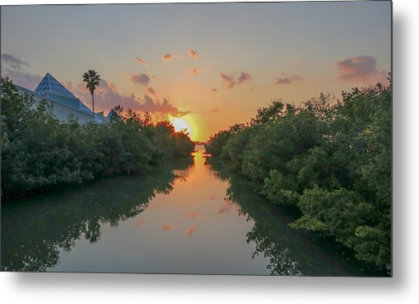 Sunset On Sarasota Bay Metal Print