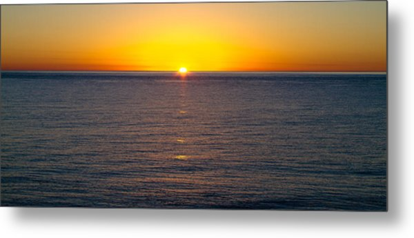 Sunset Over Baja Metal Print