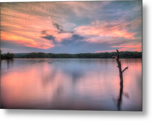 Sunset Over Cootes Metal Print by Craig Brown