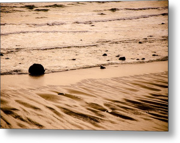 Sunset Palette Wreck Beach Metal Print
