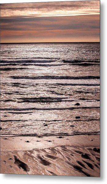Sunset Ocean Metal Print