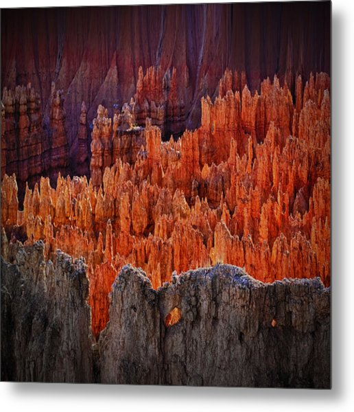 Sunset Point Bryce Canyon Utah Metal Print