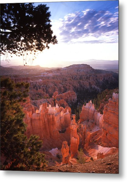 Sunset Point Sunrise Metal Print