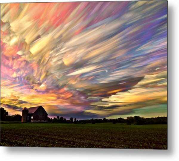Sunset Spectrum Metal Print