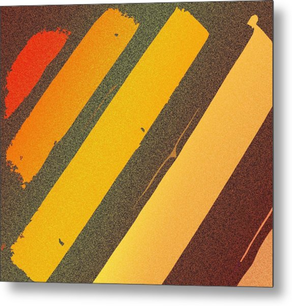 Sunset Strips Metal Print