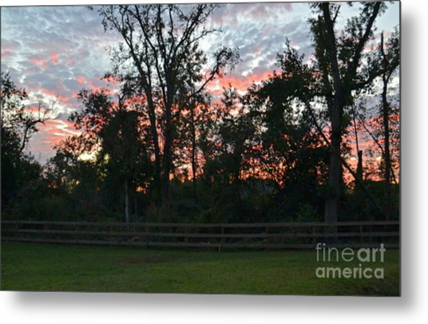 Sunset Texas Metal Print