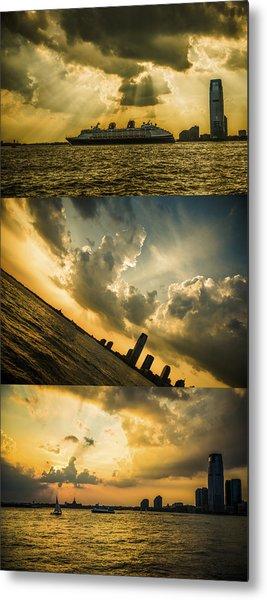 Sunset Trilogy Metal Print