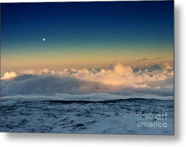 Sunset Very High Metal Print by Karl Voss