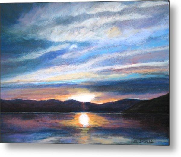 Sunset Metal Print by Vicki Brevell