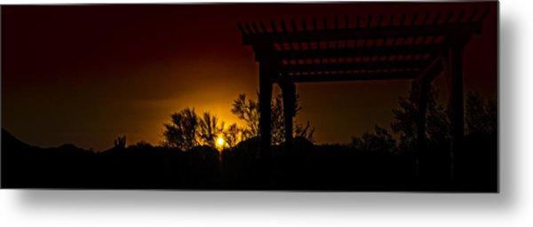 Sunset Vista Metal Print