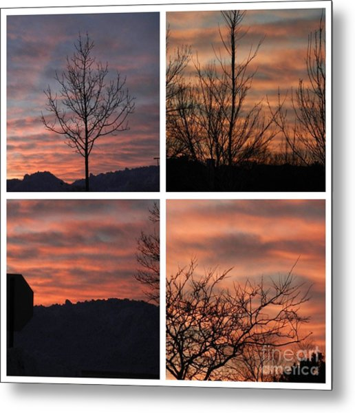 Sunsets Come In Many Colors  Metal Print