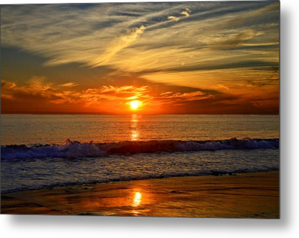 Sunset's Glow  Metal Print