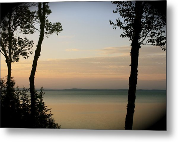 Sunsets On The Bay Of Fundy Metal Print