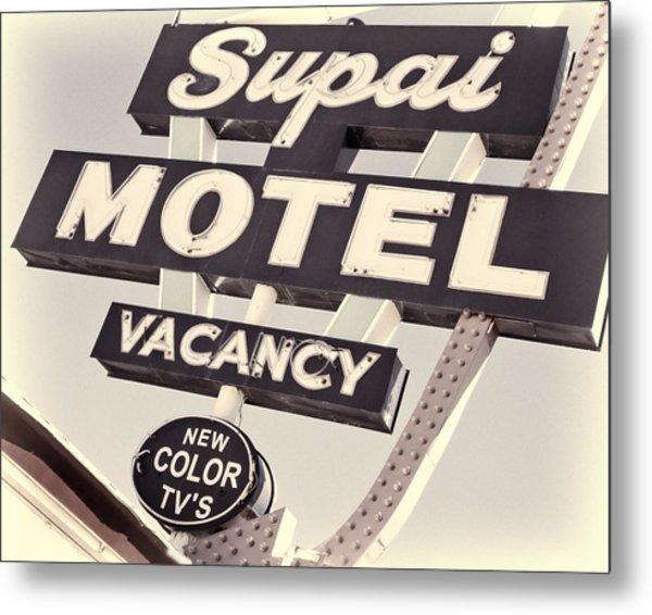 Supai Motel Metal Print