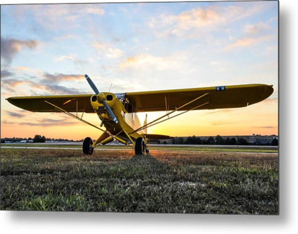 Super Cup Sunrise Metal Print